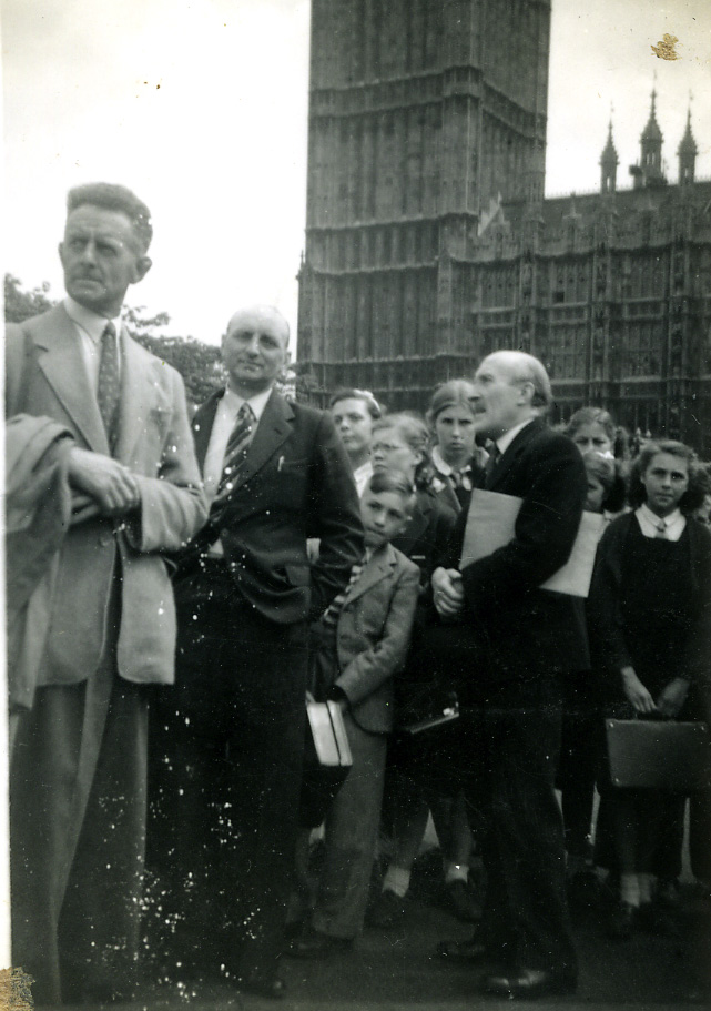 1947 London Visit Mr Smith & Collins MP