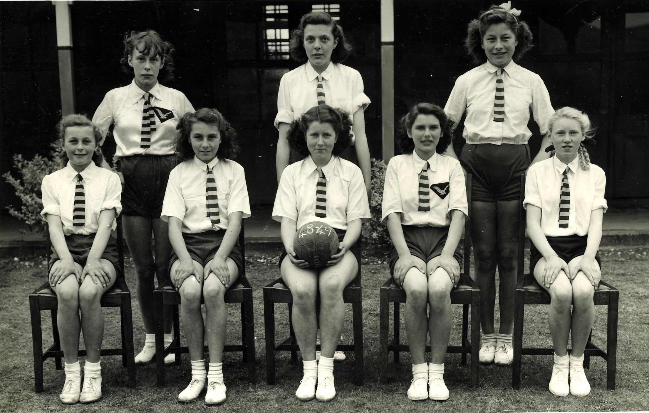 1948 Netball Team