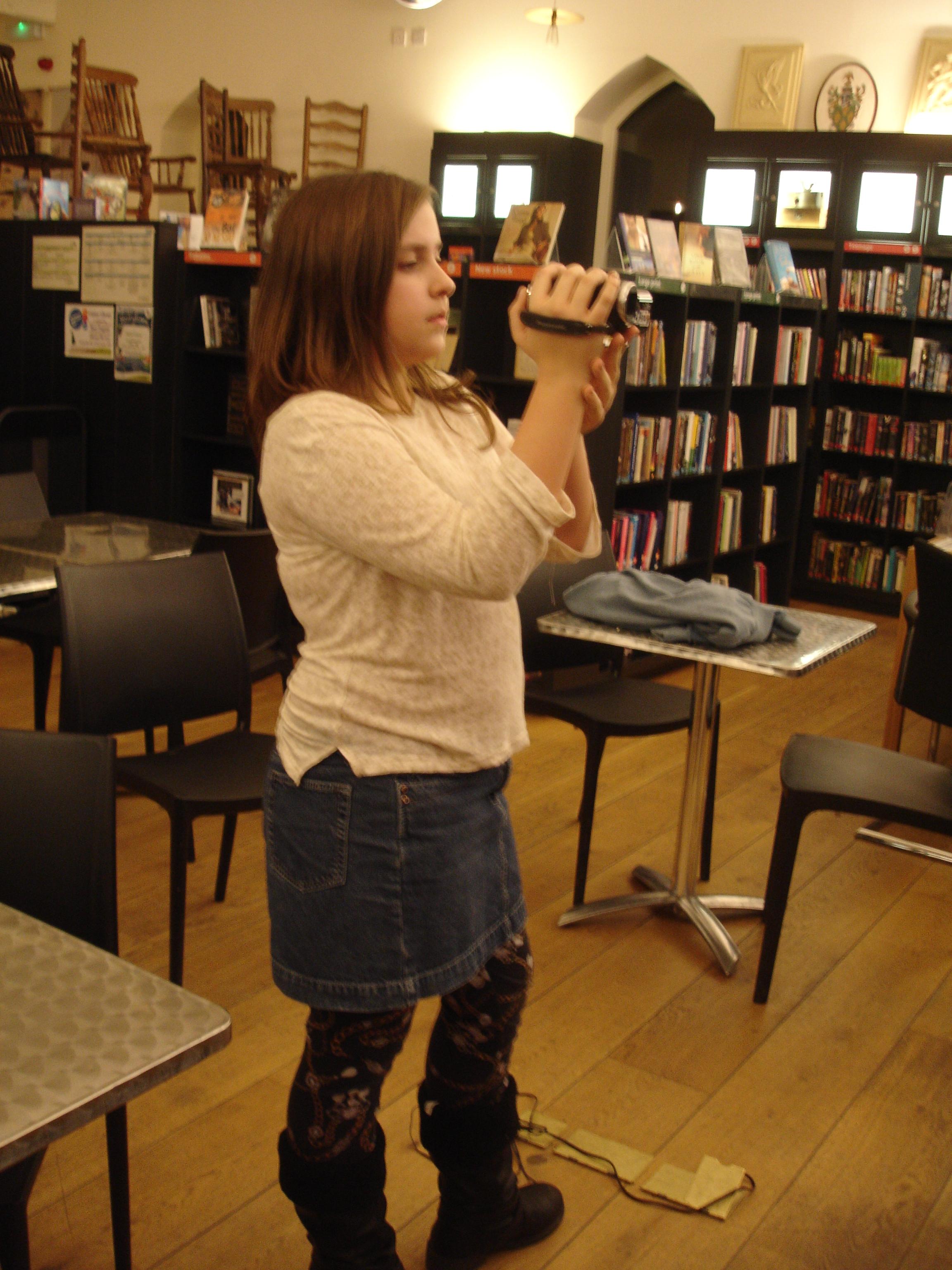 Alice Dale, Caistor Film Making Workshop - Week 1