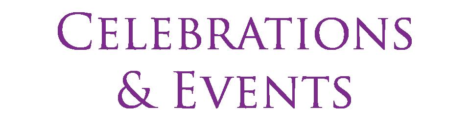 Celebrations & Events
