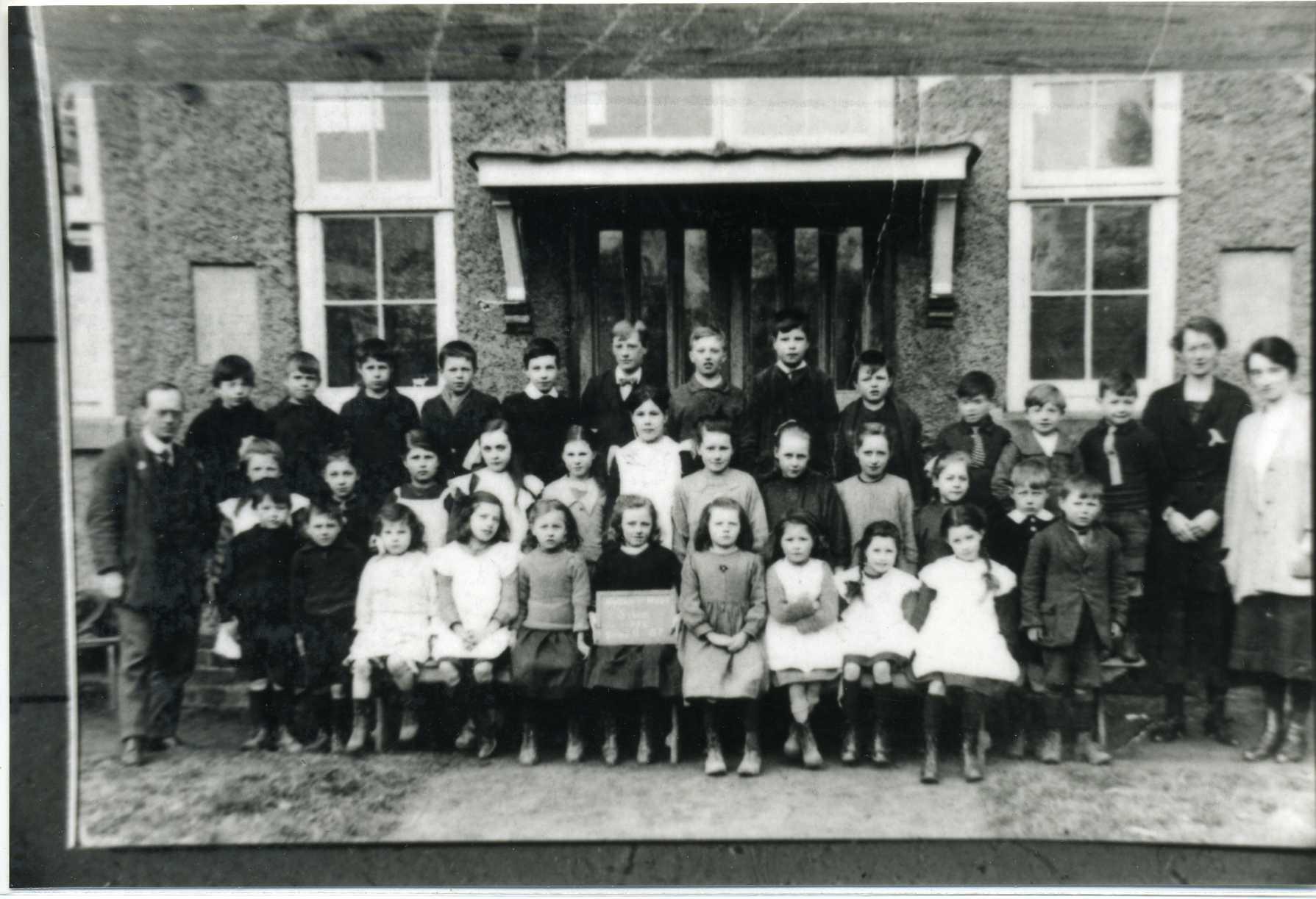 Holton le Moor School 1922