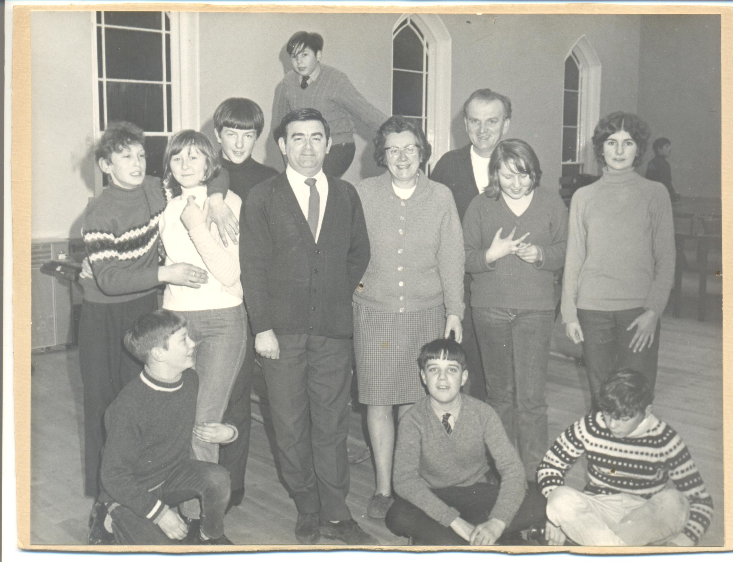 Left to Right - Bob Hollings, Dorothy Clark and Arthur Clark