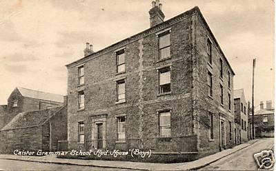 Caistor Grammar School 1910