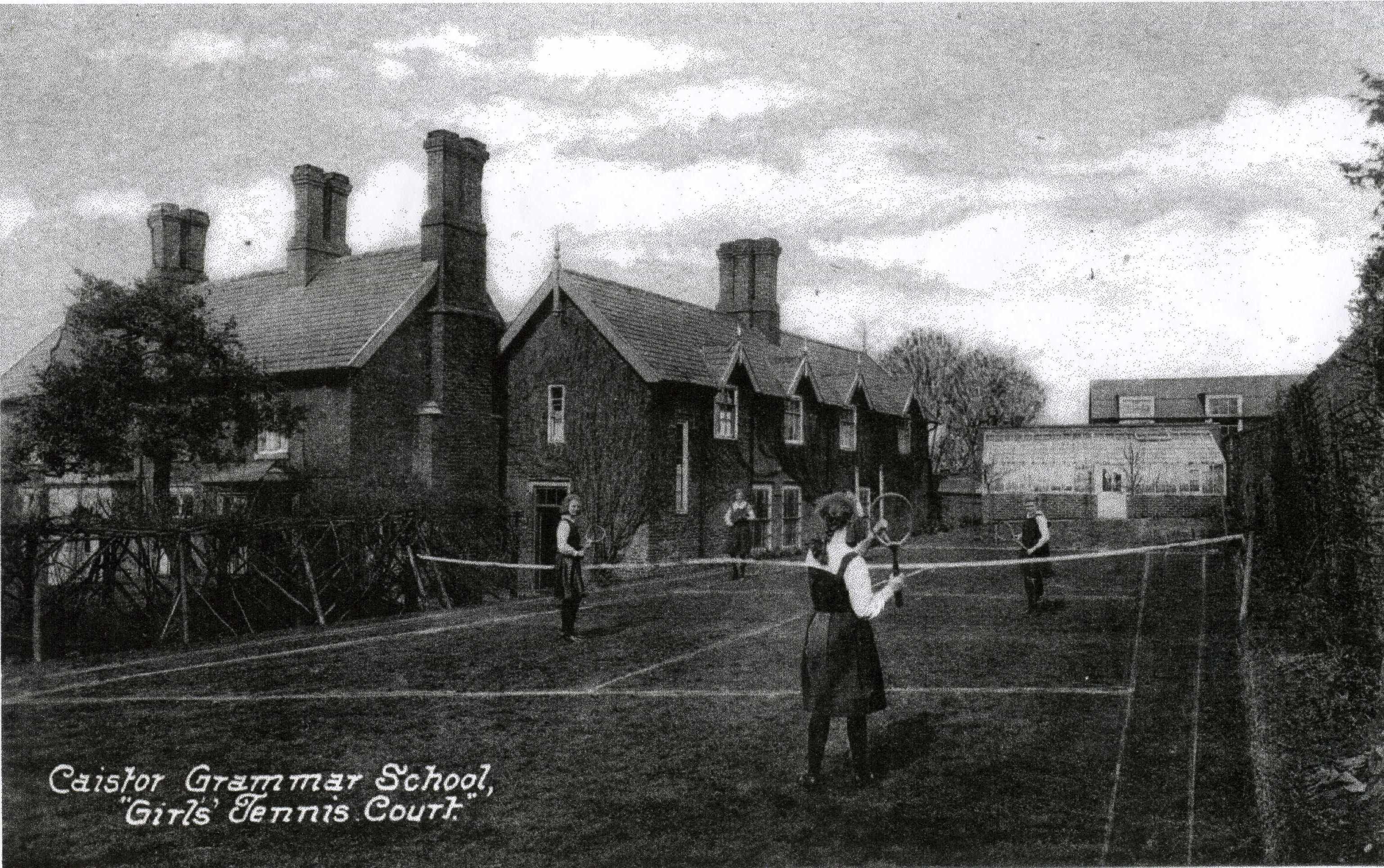 Grammar School Girls Tennis Court