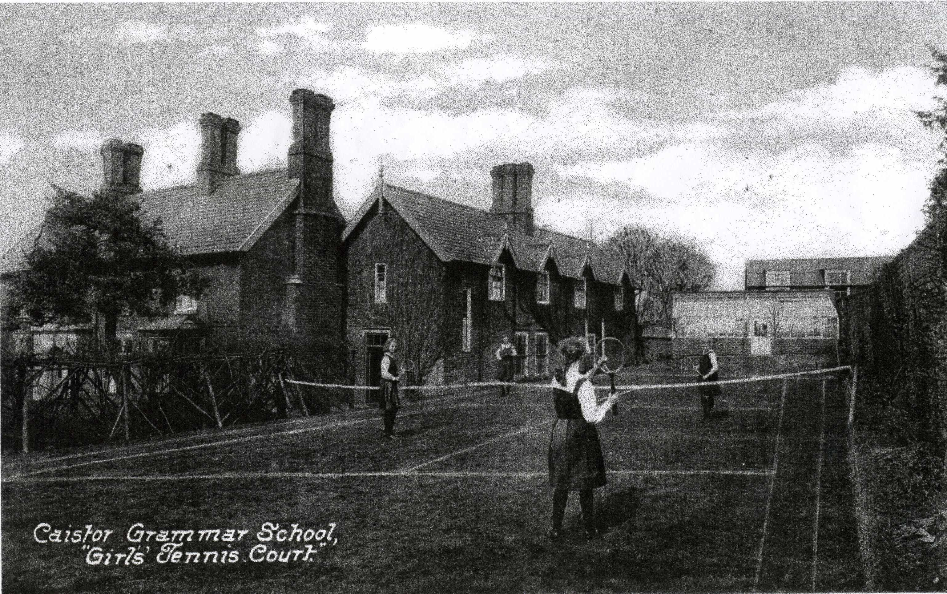 Grammar School Girls Tennis Court
